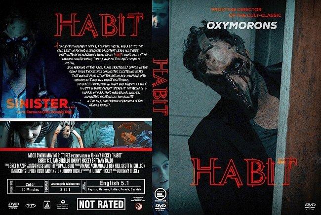 dvd cover Habit (2018) R1 Custom DVD Cover