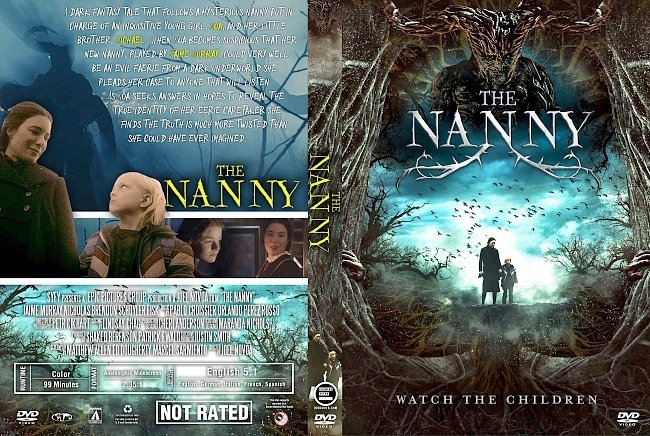 dvd cover The Nanny (2017) R1 Custom DVD Cover