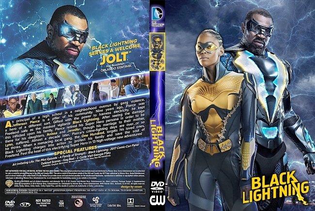 dvd cover Black Lightning (2018) R1 Custom DVD Cover
