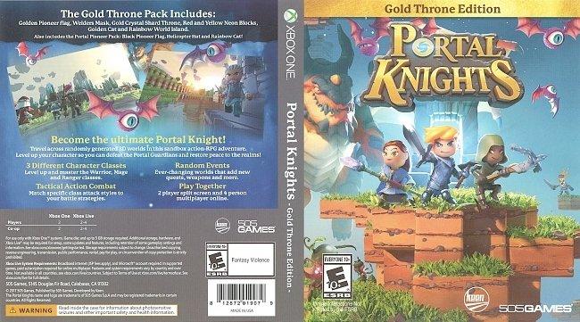 dvd cover Portal Knights (2017) Xbox Cover
