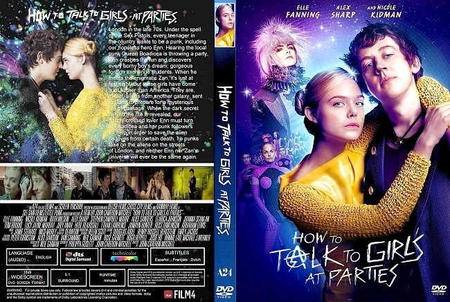 dvd cover How To Talk To Girls (2018) R1 CUSTOM DVD Cover & Label