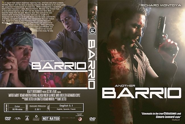 dvd cover Another Barrio (2017) R1 Custom DVD Cover