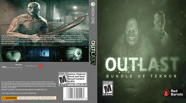 dvd cover Outlast (2018) Xbox One Custom Cover