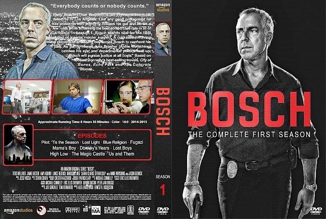 dvd cover Bosch – Season 1 (2014) R1 Custom DVD Cover & Labels