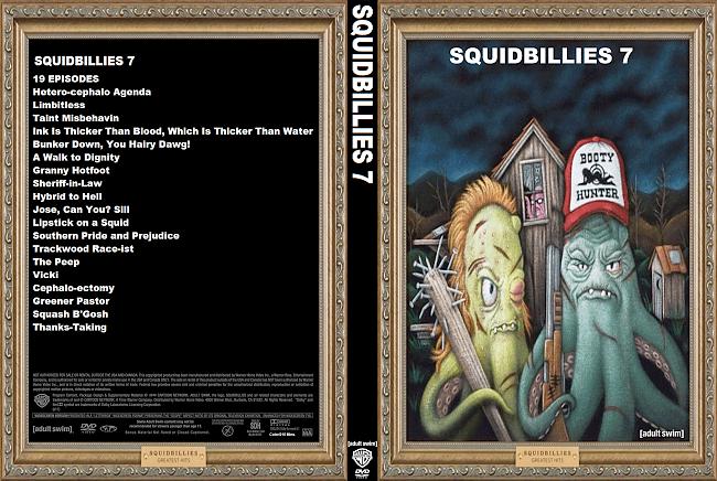 dvd cover Squidbillies Vol.7 DVD Covers