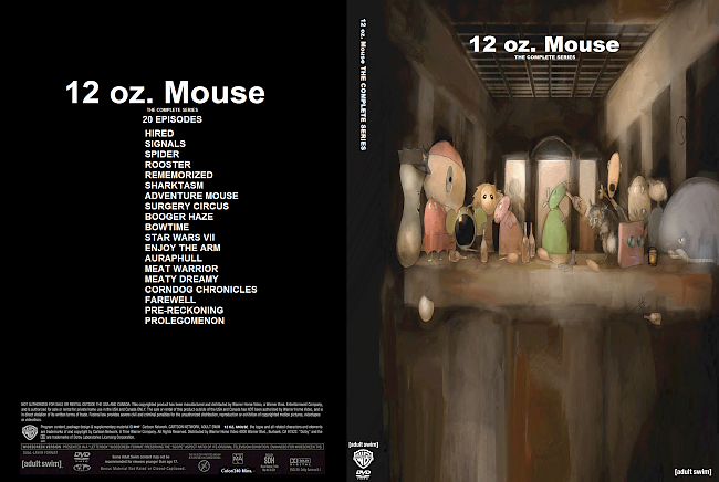 dvd cover 12.Oz Mouse: The Complete Series (Season 1-2) DVD Covers