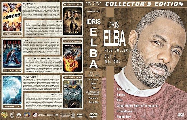 dvd cover Idris Elba Filmography – Set 4 (2010-2013) R1 Custom DVD Covers