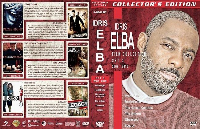 dvd cover Idris Elba Filmography – Set 3 (2008-2010) R1 Custom DVD Covers