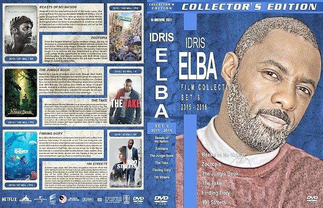 dvd cover Idris Elba Filmography – Set 6 (2015-2016) R1 Custom DVD Covers