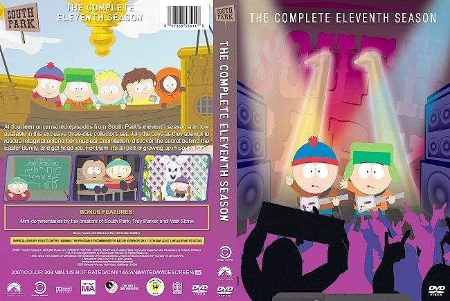 dvd cover South Park – Season 11 (2007) R1 Custom DVD Cover
