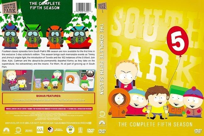 dvd cover South Park – Season 5 (2001) R1 Custom DVD Cover