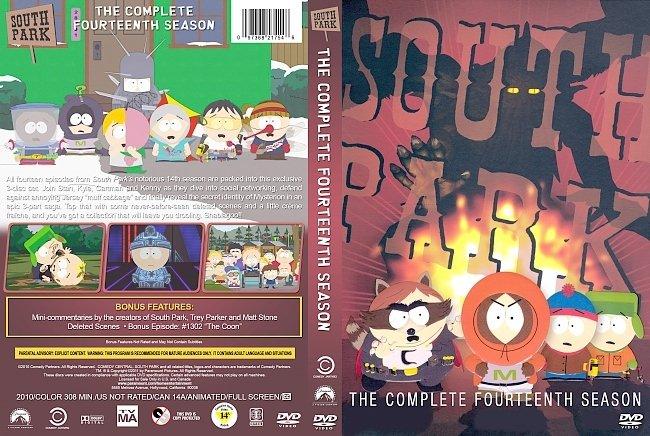 dvd cover South Park – Season 14 (2010) R1 Custom DVD Cover