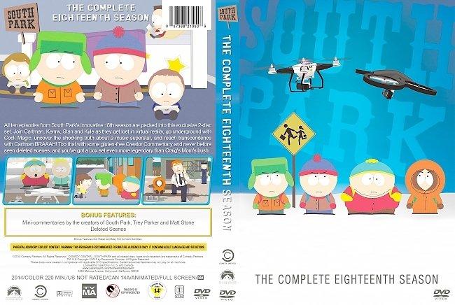 dvd cover South Park – Season 18 (2014) R1 Custom DVD Cover