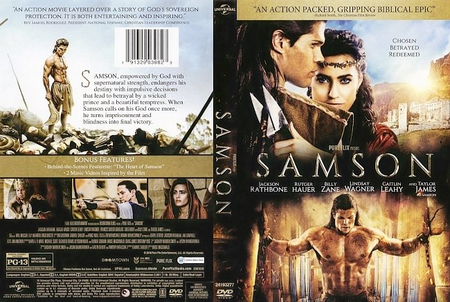 dvd cover Samson (2018) R1 DVD Cover