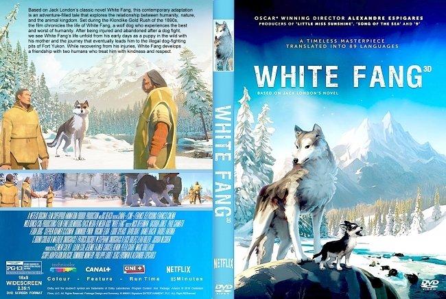 dvd cover White Fang (2018) R2 CUSTOM DVD Cover & Label