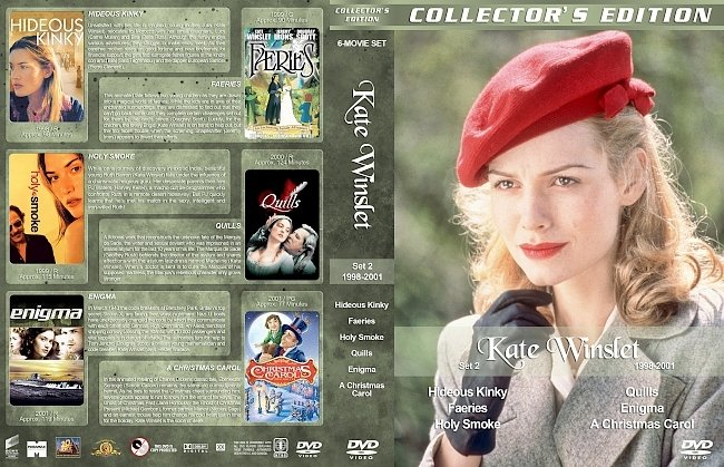 dvd cover Kate Winslet Filmography – Set 2 (1998-2001) R1 Custom DVD Covers