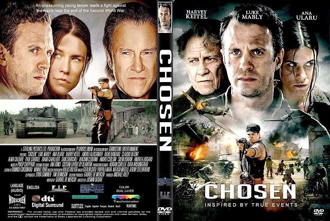 dvd cover Chosen (2016) R2 CUSTOM DVD Cover & Label