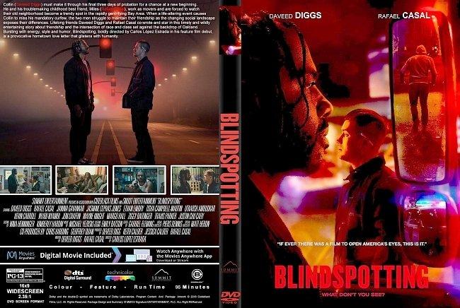 dvd cover Blindspotting (2018) R1 CUSTOM DVD Cover & Label