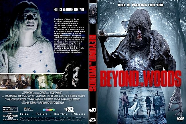 dvd cover Beyond The Woods (2018) R2 CUSTOM DVD Cover & Label