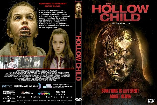 dvd cover The Hollow Child (2017) R1 Custom DVD Cover & Label
