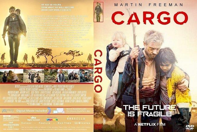 dvd cover Cargo (2018) R1 CUSTOM DVD Cover & Label