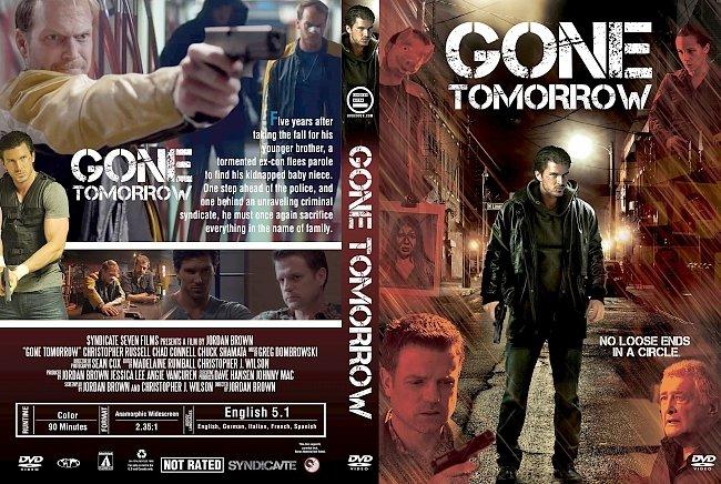 dvd cover Gone Tomorrow (2017) R1 Custom DVD Cover