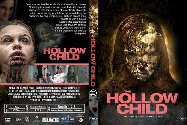 dvd cover The Hollow Child (2018) R1 Custom DVD Cover
