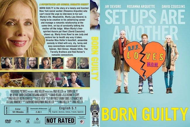dvd cover Born Guilty (2017) R1 Custom DVD Cover