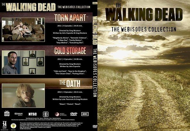 dvd cover Walking dead webisods (2011-2013) R1 Custom SLIM DVD Cover