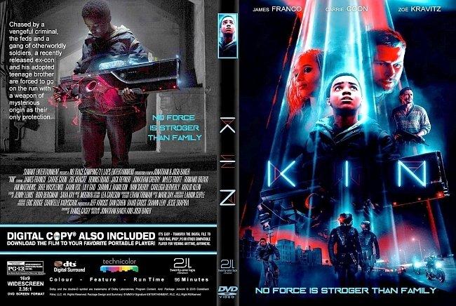 dvd cover Kin (2018) R1 CUSTOM DVD Cover & Label