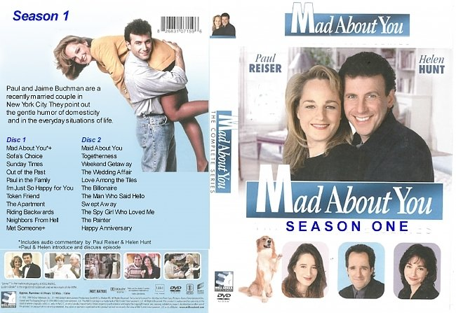 dvd cover Mad About You Seasons 1-7 DVD Covers
