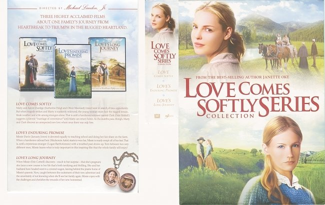 dvd cover Love Comes Softly Series Collection (2012) R1 DVD Cover