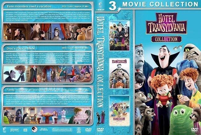 dvd cover Hotel Transylvania Collection (2012-2018) R1 Custom DVD Cover