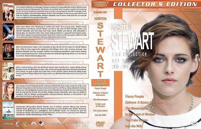 dvd cover Kristen Stewart Film Collection – Set 2 (2005-2007) R1 Custom DVD Covers