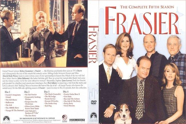 dvd cover Frasier: Season 5 (1997) R1 DVD Cover