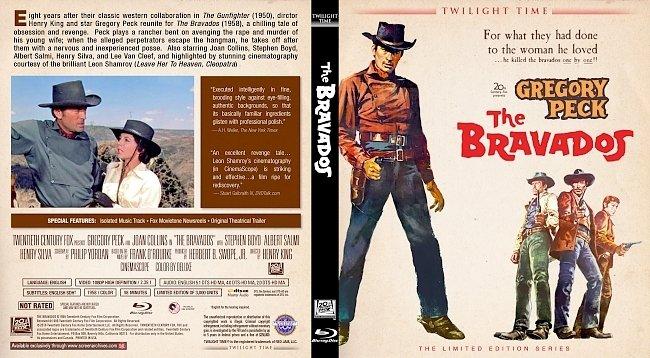 dvd cover The Bravados Bluray Cover