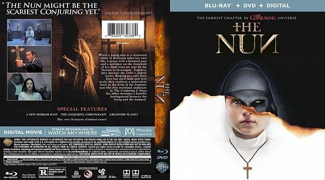 dvd cover The Nun Bluray Cover