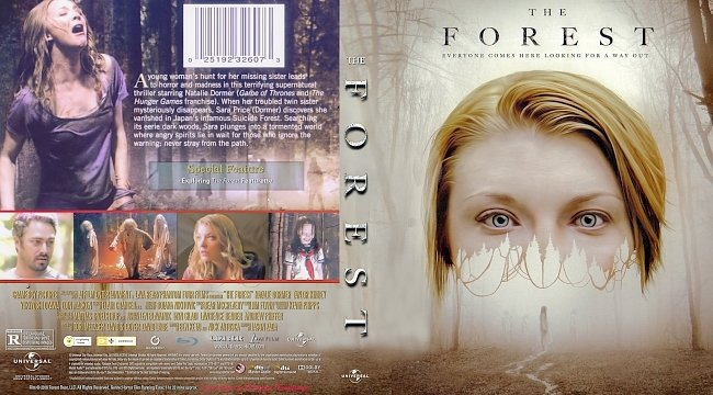 dvd cover The Forest Bluray Cover