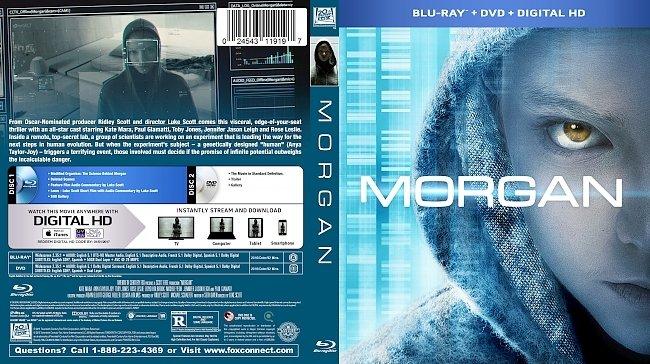 dvd cover Morgan Bluray Cover