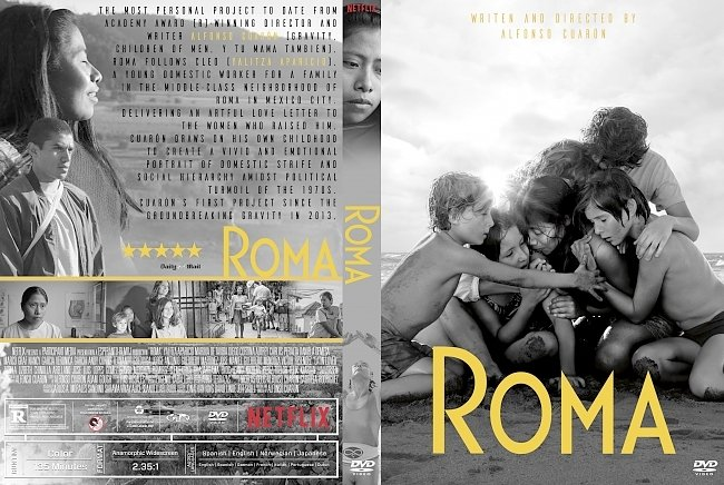 dvd cover Roma DVD Cover