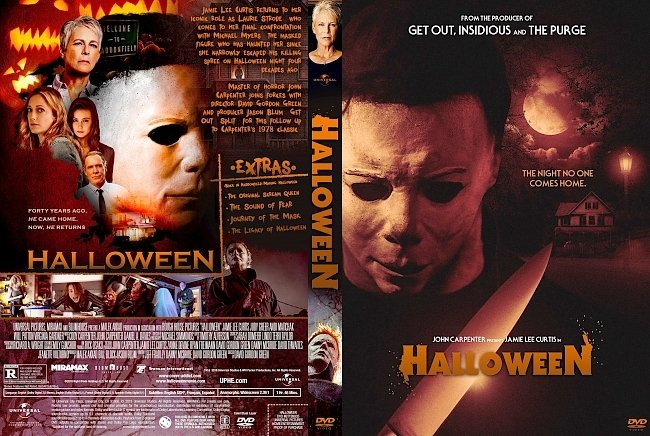 dvd cover Halloween DVD Cover