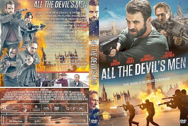 dvd cover All the Devil's Men DVD Cover