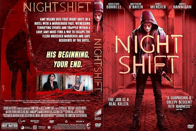 dvd cover Nightshift DVD Cover