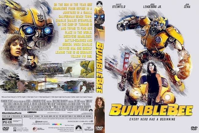 dvd cover Bumblebee DVD Cover