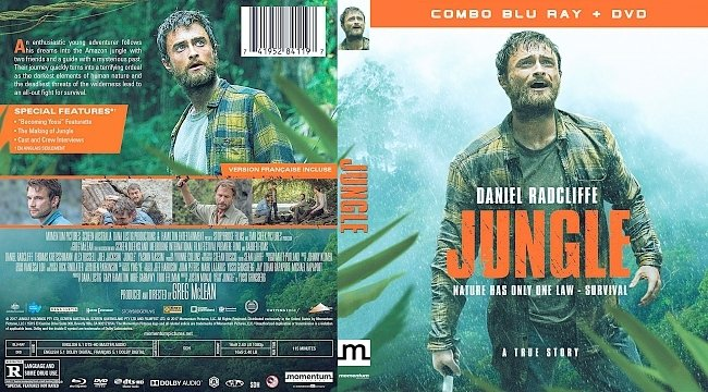 dvd cover Jungle Bluray Cover