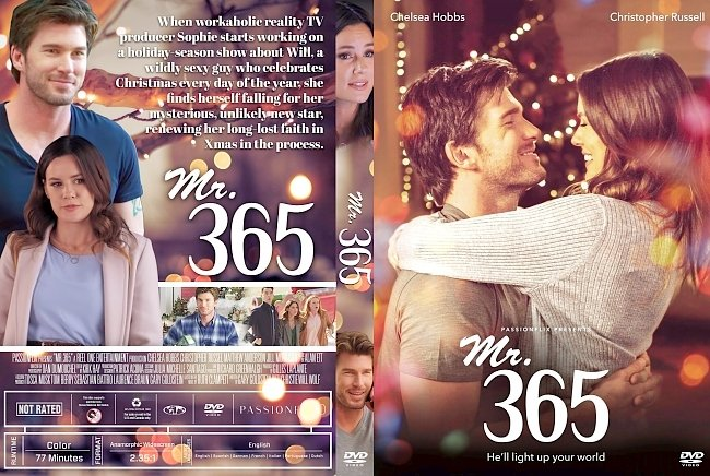 dvd cover Mr. 365 DVD Cover