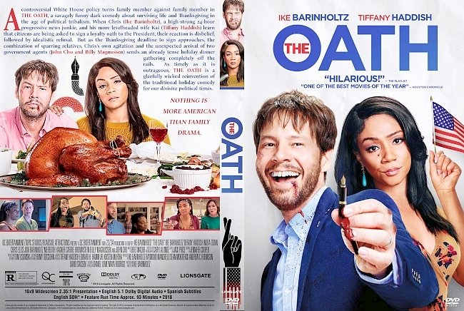 dvd cover The Oath DVD Cover