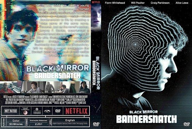 dvd cover Black Mirror: Bandersnatch DVD Cover