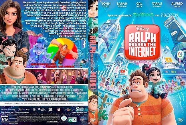 dvd cover Ralph Breaks the Internet DVD Cover