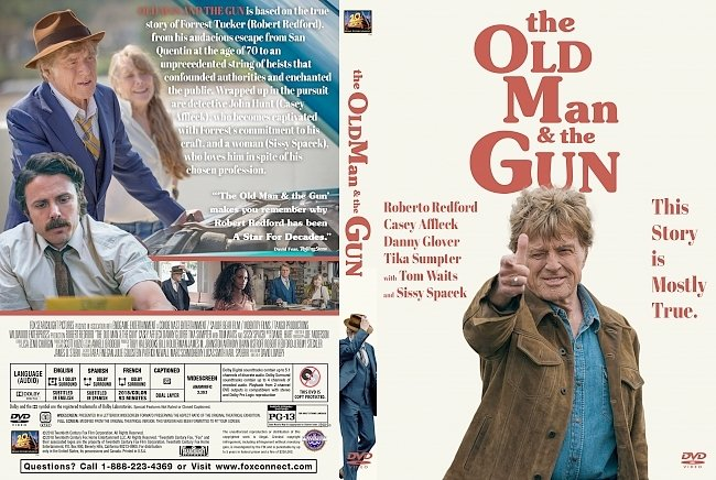 dvd cover The Old Man And The Gun DVD Cover